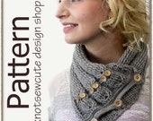 Cabled Owl Neck Warmer - Crochet Pattern (PDF) - INSTANT DOWNLOAD