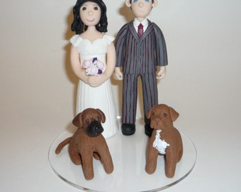 Wedding Cake Topper Caricatures