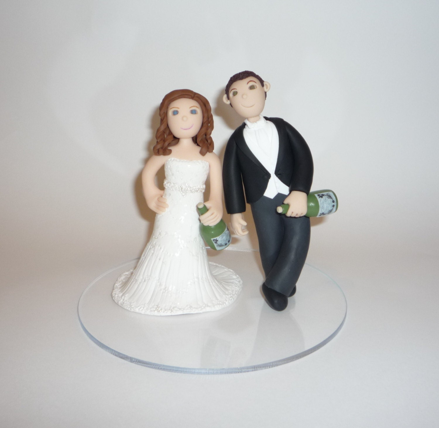 drunk bride wedding cake tipsy wedding cake topper 13761
