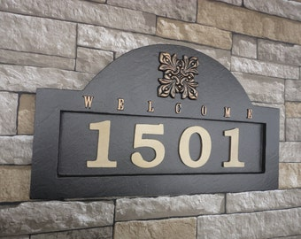 Spanish Address Plaque Customized House Numbers