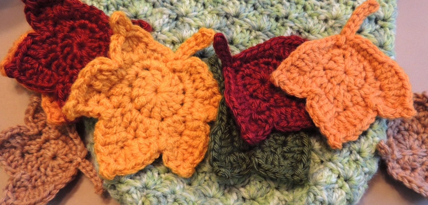 Sale leaf patterns 2 fast and easy fall maple leaf crochet zoom bankloansurffo Image collections