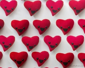 Mini Valentine's Day Plush Heart