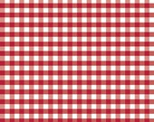 Riley Blake Designs, Medium Gingham in Red (C450 80)