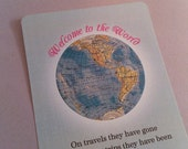 Welcome to the World Baby Shower Invitation and Party Pack