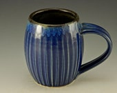 Chun Blue Hand Carved Barrel Cup