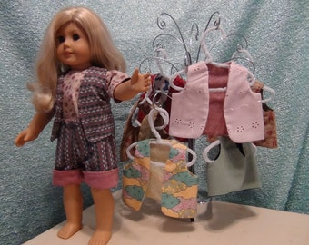 AMERICAN GIRL DOLL Reversible Vest Pattern