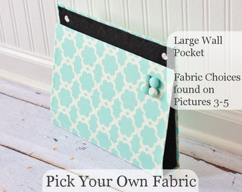 Create your own Large Wall Pocket, Magnet Board, File and Mail Holder