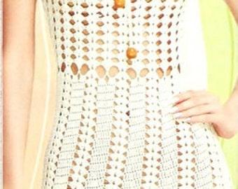 MADE TO ORDER  summer crochet dress  RI112