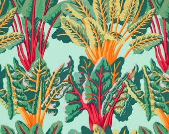 Kaffe Fassett CHARD Leafy Green - Cotton Quilt Fabric - by the Yard, Half Yard, or Fat Quarter FQ