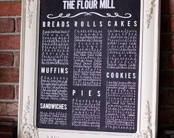 "The Flour MIll - 16""x20 Canvas Print"