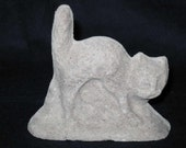 Unfinished paper mache Scardy Cat