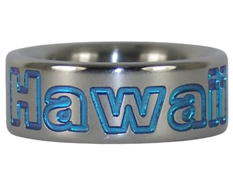 Hawaii Titanium Ring