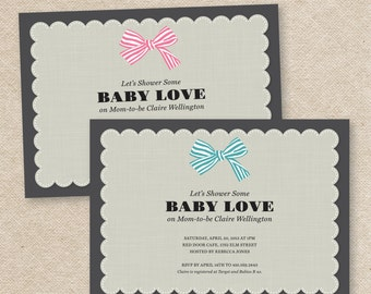 Baby Love Babyshower Invitation