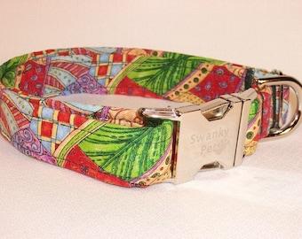 Beautiful Butterfly Wings Dog Collar by Swanky Pet