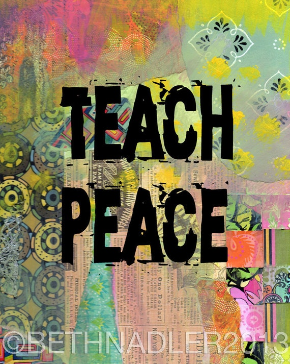 Teach Peace Quotes