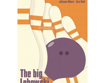 The Big Lebowski movie poster in various sizes