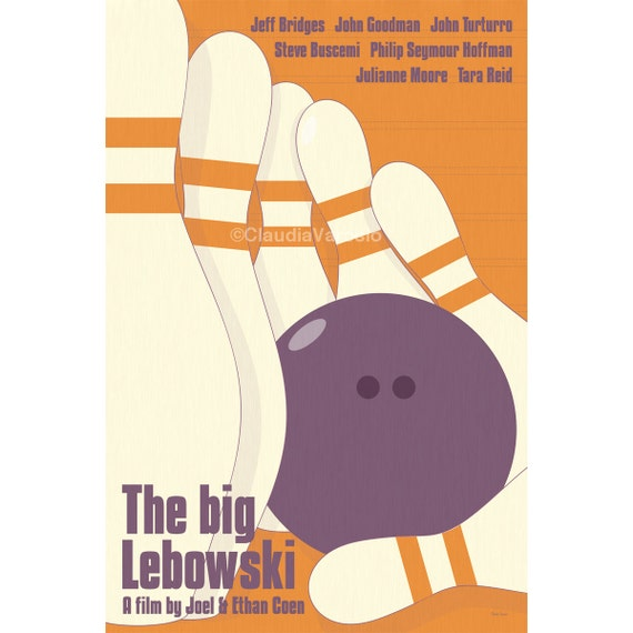 The Big Lebowski 12x18 inches movie poster