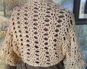 Shrug Bolero Wrap Crochet Pattern Spring Summer or Winter