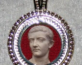 Roman Emperor Tiberius Pendant