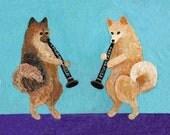 Pomeranian Clarinet Duo- PRINT