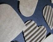 Corrugated Heart Die Cuts