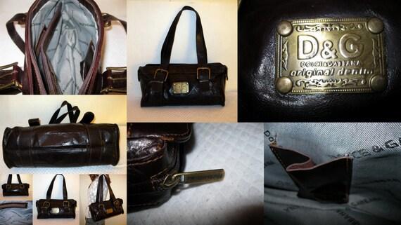 Dolce And Gabbana Original Denim Boston Bag Doctors Bag