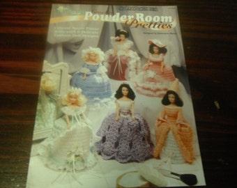 Bathroom Doll Crochet Patterns Powder Room Pretties Needlecraft Shop 931323 Crocheting Pattern Leaflet