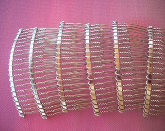6 Metal Hair Combs to Make Your Own Special Comb, Or Hold Your Veil HC506