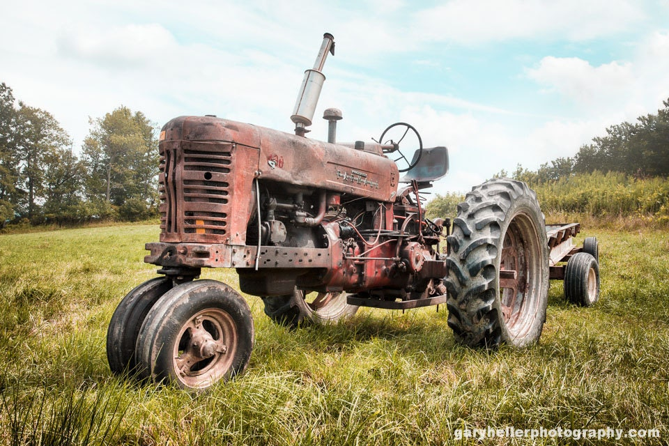 Oldest Antique Tractors : Old farmall tractor dreams rusty on a farm fine