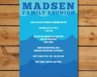 Family Reunion Invitations - Family Splash