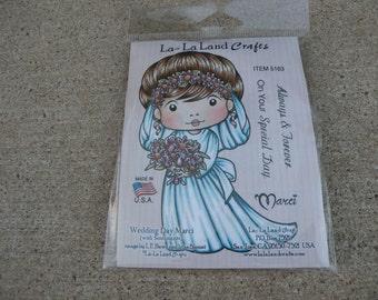 Wedding Day Marci, La-La Land Crafts Stamp