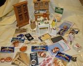 Destash Dollhouse/Miniature  Kitchen Lot 119