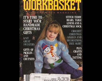 The Workbasket - Vintage Craft Magazine c. June-July 1990