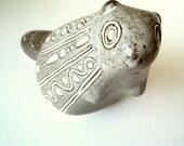 Collectible Vintage Folk/Ethnic Ceramic Beaver Figurine