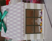 cupcakes box,cupcake house,cupcake package-can contain 4 large cupcakes