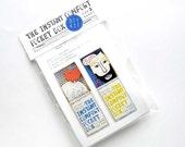 SALE - DIY kit - blue:  for 2 Instant Comfort Pocket Boxes