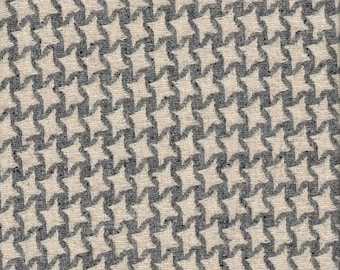 "Starweave Gray & White Wool Suiting. 60""wide. 1 Yard."