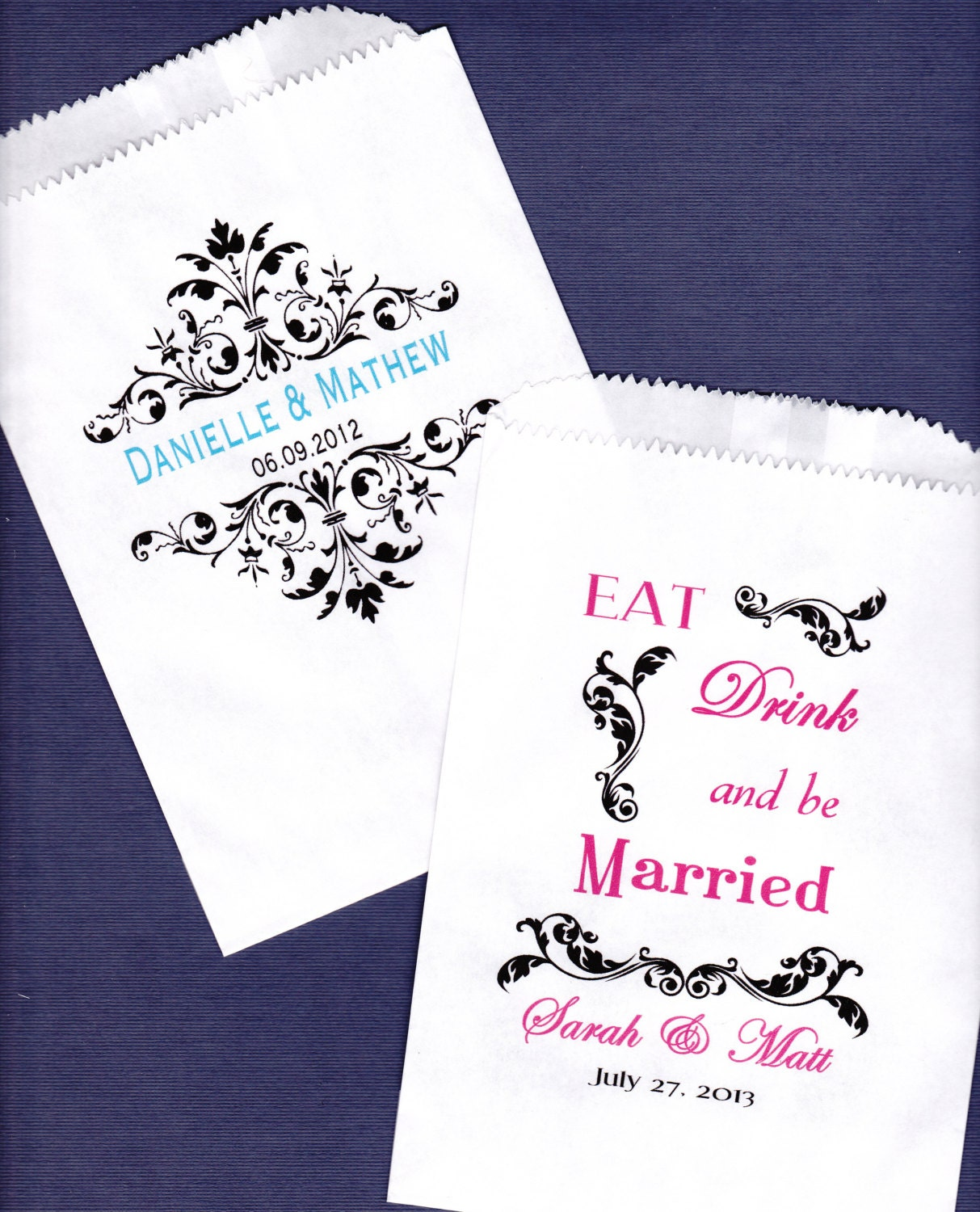 Wedding Favor Bags For Cookies : Wedding Candy Buffet Bag Favor Bags Cookie Bar Treat Bags