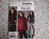 Simplicity Threads jacket pattern