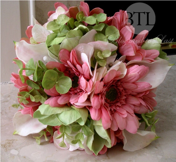 Gerbera And Lily Wedding Bouquet Calla Lily Wedding Bouquet