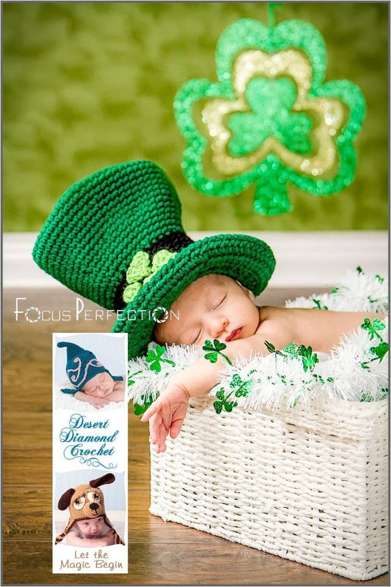 Lucky Leprechaun Hat - Any Size Any Colors