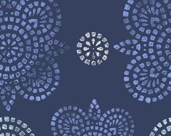 Sale Ty Pennington Taj in Navy 1/2 Yard for Rowan Fabrics