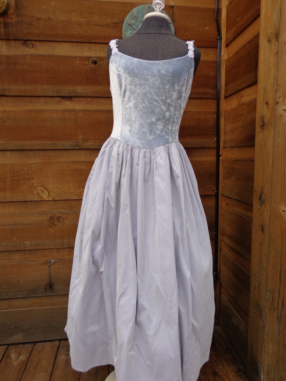 Sale Dress Jessica Mcclintock Gunne Sax Light Blue By