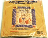 Love Me Love My Cat - Mini Quilt Stitching Kit 7284