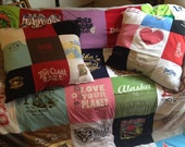 Tshirt Memory Pillow - custom made with your blanket or separately