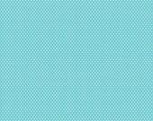 Mini Dots - Blue - Santa's Workshop - Doodlebug Design for Riley Blake - 1 FAT QUARTER