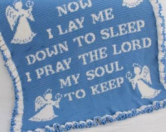 Prayer Afghan Crochet Pattern PDF