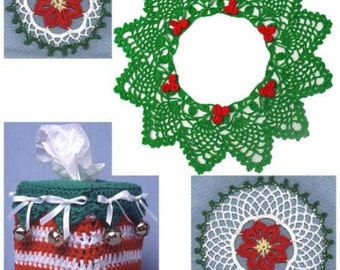 Christmas Through the Home Crochet Pattern-PS055