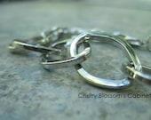 All Silver Chain Bracelet