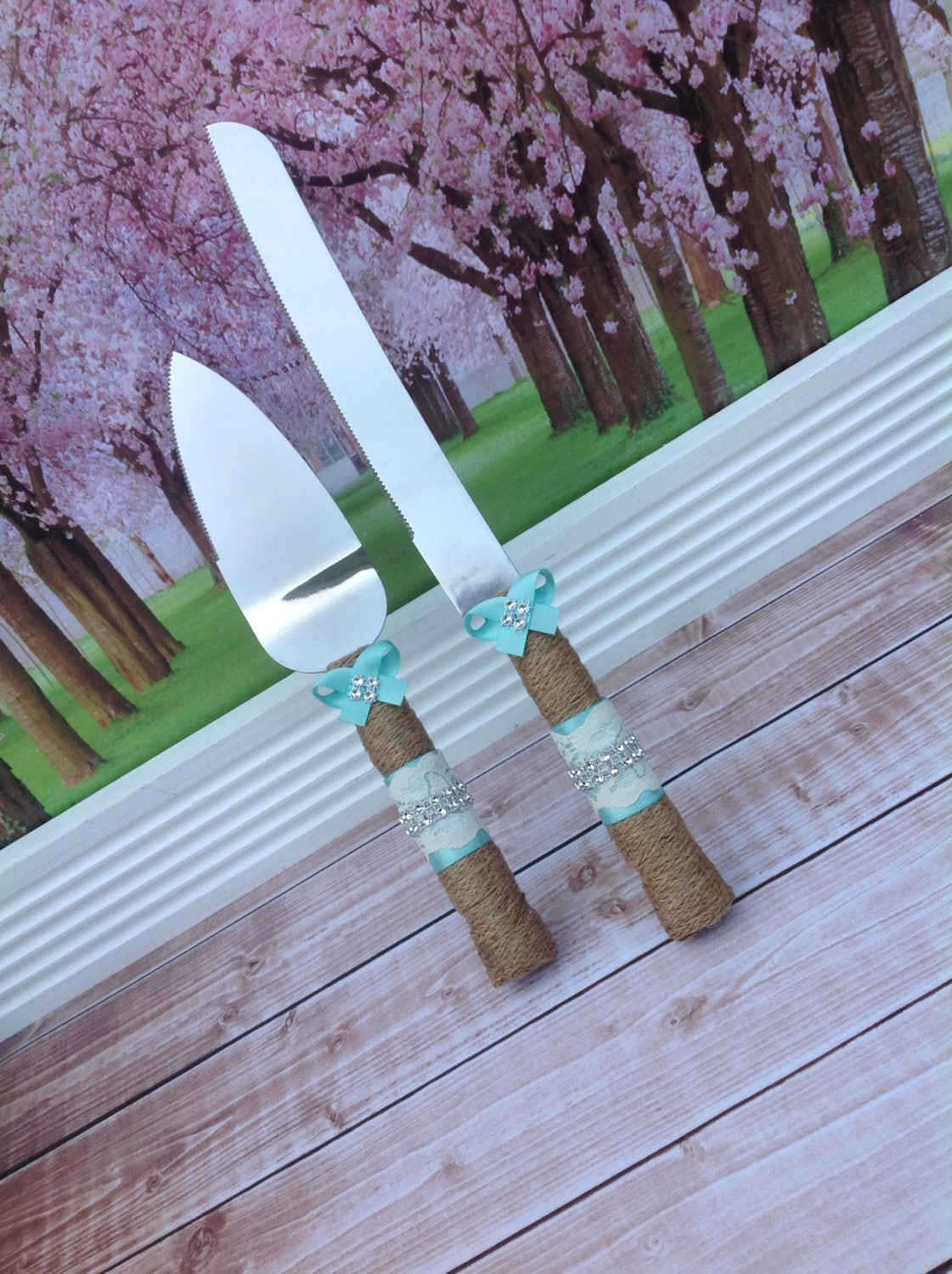 cake knives for wedding wedding cake knife set burlap knife set cake cutting set 2258
